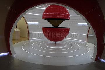 Hong Kong  China  moderne Inneneinrichtung im Canon Customer Care Center