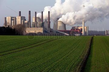 RWE Braunkohlekraftwerk Neurath