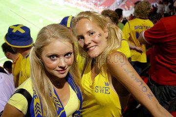 WM 2006 Schwedische Fans