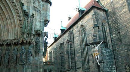 Marien Dom und Severinskirche