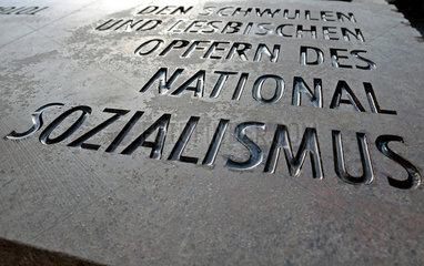 Denkmal fuer schwule und lesbische Opfer des Nationalsozialimus in Koeln