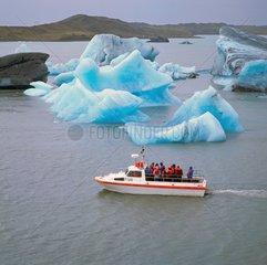Eisberge im Joekulsarlon  Island