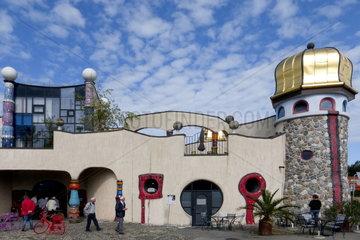 Market Hall by Friedensreich Hundertwasser