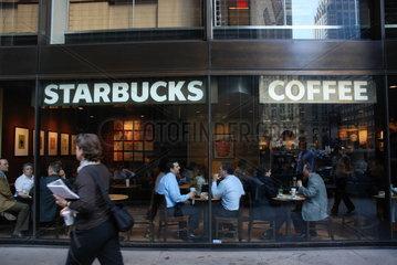 Starbucks-Filiale in Manhattan
