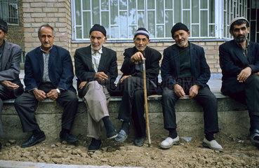 Senioren im Iran