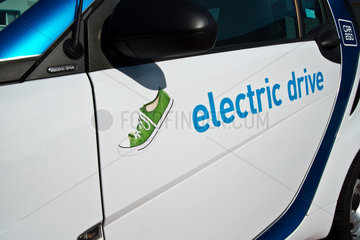 Carsharing mit Elektroauto E-Smart