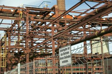 Stillgelegte Kokerei Zollverein