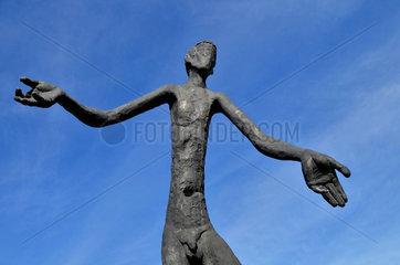 Gross-Skulpturen in Calgary  Kanada
