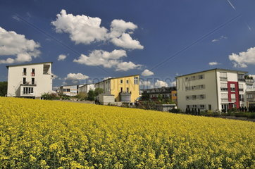 Ulmer Wohnviertel Solar City