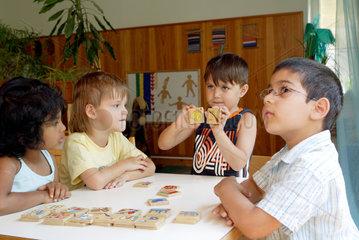 Sprachfoerderung in der Kindertagesstaette