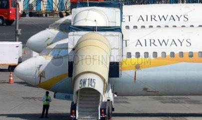 INDIA-MUMBAI-JET AIRWAYS-CRISIS