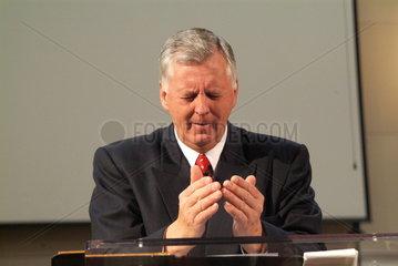 Harold Bare - Pastor der Covenant Church in Charlottesville  Virginia