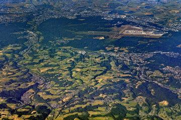Wahner Heide Aerial view