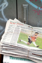 Tageszeitungen  Altpapier