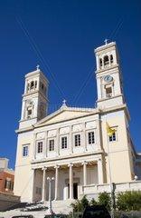 Greece  Cyclades Islands  Syros  Hermoupolis  Agios Nikolaos Church