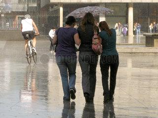 Sommerregen in Koeln