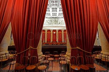 Gerichtssaal des Supreme Court in Washington
