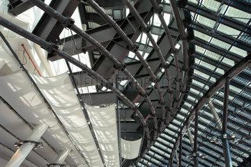 Dachkontruktion des Klimahaus Bremerhaven