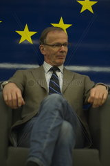 Elections to the European Parliament  the top candidate  Eugen Freund  SPOe.