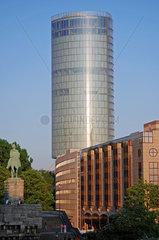 Der LVR-Turm in Koeln-Deutz