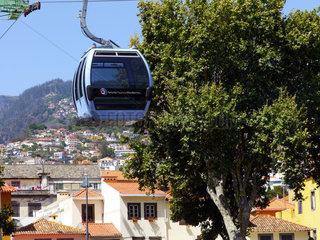 Madeira: Seilbahn von Funchal nach Monte