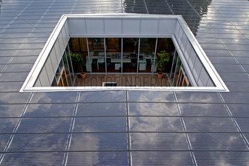 Photovoltaik-Anlage auf einem Flachdach