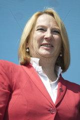 1. Mai Feier 2014 der Sozialistischen Partei Oesterreichs mit Bundesministerin Doris Bures