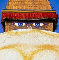 Die alles sehenden Augen Buddhas
