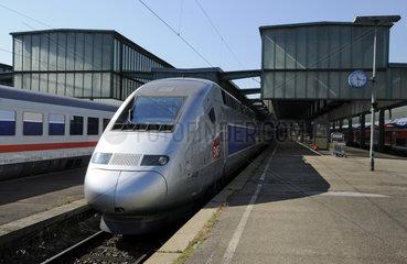 TGV im Hbf Stuttgart