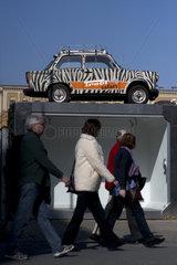 Berlin Wall - Trabant