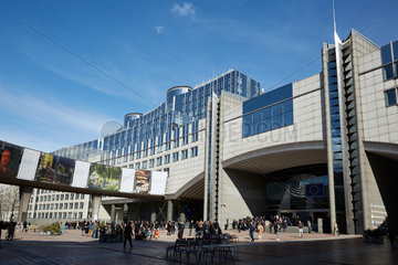 Bruessel  Region Bruessel-Hauptstadt  Belgien - Agora Simone Veil und das Europaparlament.