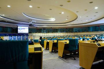 Bruessel  Region Bruessel-Hauptstadt  Belgien - Saal fuer Ausschusssitzungen im Europaparlament.