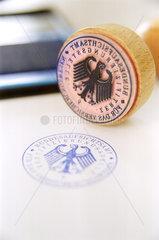 Bundesaufsichtsamt fuer das Versicherungswesen - Stempel