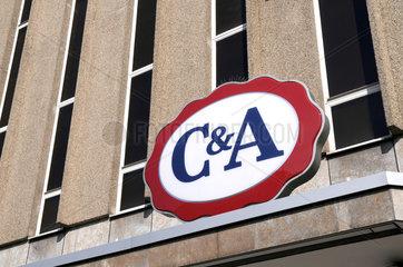 'C&A' Filiale in Freiburg