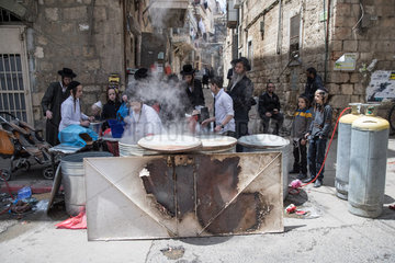 MIDEAST-JERUSALEM-PASSOVER-PREPARATION