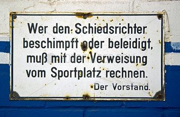 Schiedsrichter-Schutz