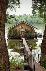 Bootshaus in Serbien