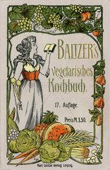 Vegetarisches Kochbuch  1911