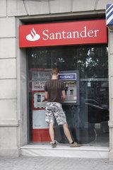 Geldautomat in Barcelona