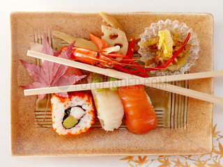 Japanisches Sushi