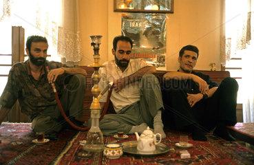 Teehaus in der iranischen Hauptstadt Teheran