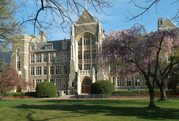 Hauptgebaeude der Georgetown Univerity