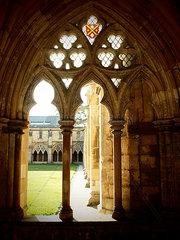Kreuzgang der Kathedrale in Norfolk
