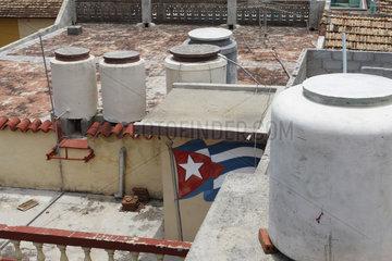 Wassertanks in Trinidad