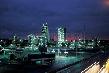 Europe  France  Lyon  Petrochemical plant