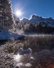 Almsee im Winter
