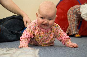 Berlin  Deutschland  Baby im Portrait