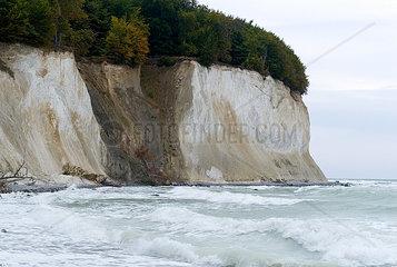 Chalk cliffs of Ruegen