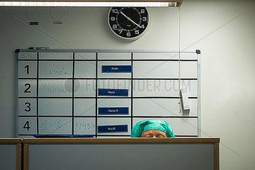 Arzt in einem Krankenhas