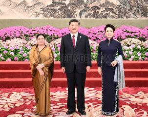 (BRF)CHINA-BEIJING-BELT AND ROAD FORUM-XI JINPING-BANQUET (CN)